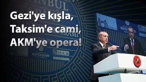 Cumhurbaşkanı Erdoğan'dan Gezi Parkı açıklaması!