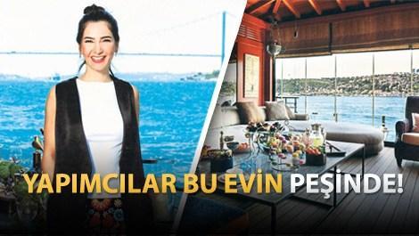 Şirin Yalçın, Çengelköy'deki yalısının kapılarını açtı!