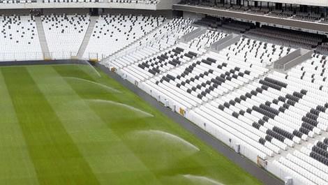 vodafone arena stadının yeni görüntüsü