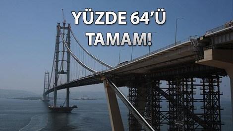 İstanbul-İzmir Otoyolu'nun yarıdan fazlası bitti