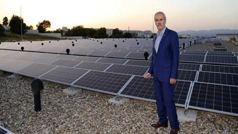 Bursa'da bedelsiz elektrik üretilecek