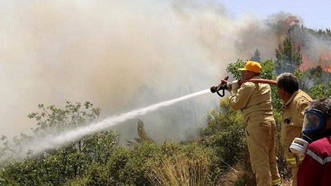 Kumluca'dan sonra Adrasan'da yangın çıktı