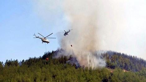 kumluca'daki yangın