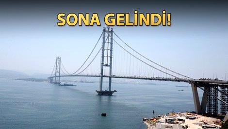 Osmangazi Köprüsü yarın açılıyor