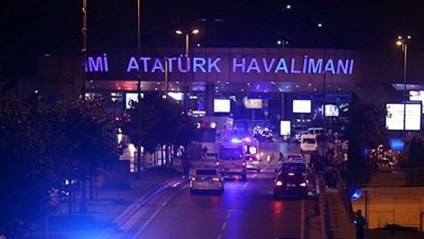 İstanbul Atatürk Havalimanı'nda patlama