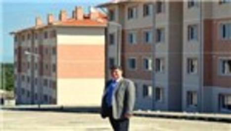 TOKİ, Ayvacık'ta emeklilere 232 konut yapıyor