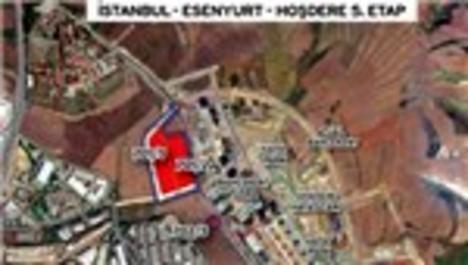 Esenyurt Hoşdere 5. Etap arsasının yer teslimi yapıldı