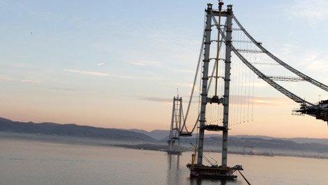 Osmangazi Köprüsü, seyahat süresini yarı yarıya azaltacak