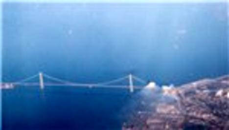 Osman Gazi Köprüsü'nün havadan görüntüleri!