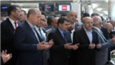 Recep Tayyip Erdoğan, Atatürk Havalimanı'nda!