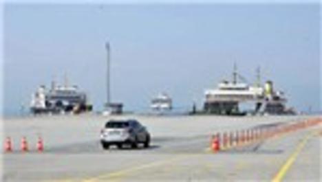 Osmangazi Köprüsü feribotları unutturdu!