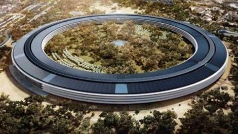 İşte Apple'ın yeni merkez binası!