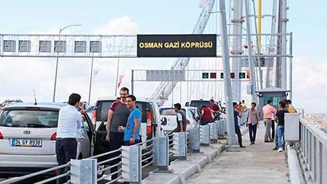 Osmangazi'de geçiş 89 TL, 'selfie' cezası 92 TL