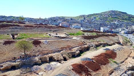 Şanlıurfa'de Kale Eteği Projesi devam ediyor