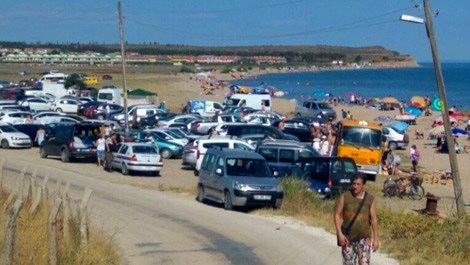 Bayram tatilinde Enez sahiline 150 bin kişi geldi