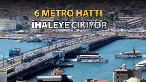 İBB, metro projeleri için düğmeye bastı