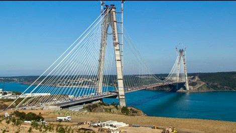 3. köprü 26 Ağustos'ta, Avrasya Tüneli 20 Aralık'ta açılacak