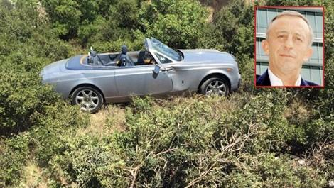Ali Ağaoğlu'nun Rolls Royce'u uçtu