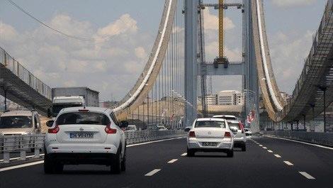 Osmangazi Köprüsü'nden ücretli geçişler başladı
