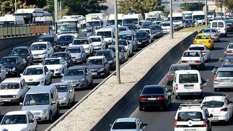 trafiğe çıkan araçlar