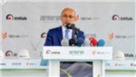Kalkınma bakanı Lütfi Elvan, Zermeram'ın temelini attı
