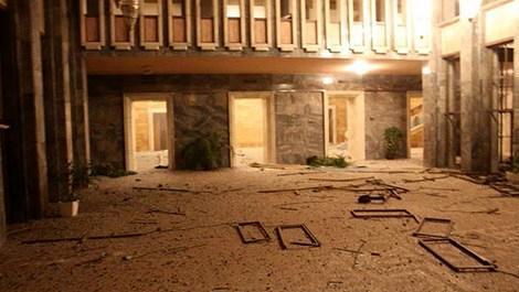 TBMM'ye atılan bombanın ardından oluşan hasar ortaya çıktı