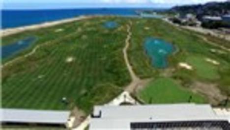 Samsun'daki ilk deniz dolgulu golf sahası hizmete girdi!