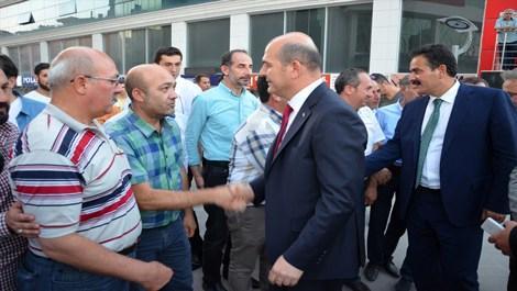Süleyman Soylu, şehit ailelerini ziyaret etti!