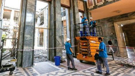 TBMM'de bazı yerler tamir edilmeyecek