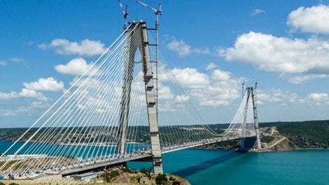 3. Köprü için günde 25 bin ton asfalt üretiliyor!