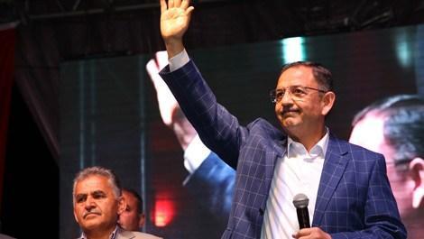 Mehmet Özhaseki: Sizin cesaretiniz onları yendi!