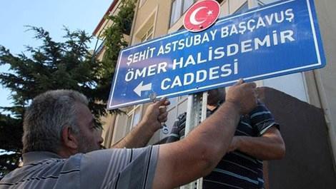şehitlerinin isimlerinin verildiği Nevşehir'deki cade