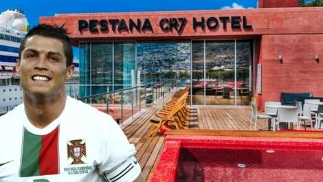 Ronaldo otel açtı, 1 gecelik fiyatı dudak uçuklattı!