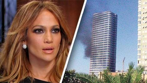 Jennifer Lopez'in İstanbul'daki evi az kalsın yanıyordu