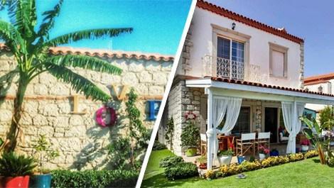 Doğa Rutkay ve Kerimcan Kamal'ın Alaçatı'daki evi