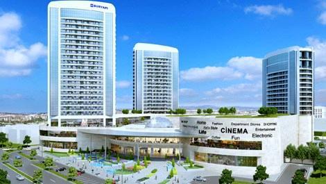 Sur Yapı Marka Rezidans hızla yükseliyor