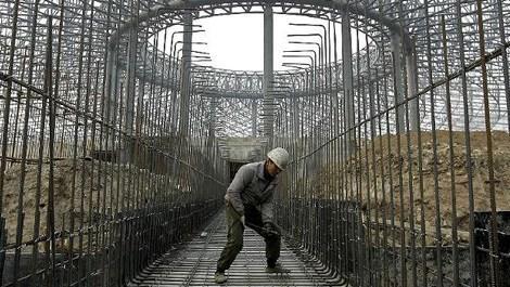 Çin'de inşaat demiri