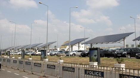 TAV, Tifls'teki havalimanına güneş enerjisi sistemi kurdu!