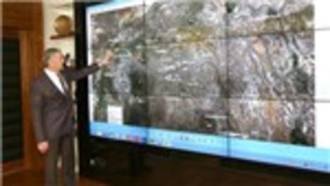 Şehir merkezindeki askeri alanların envanteri çıkarıldı