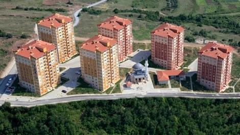 TOKİ Zonguldak'taki 334 evin kura çekilişi yapıldı