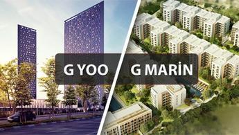 G Yoo ve G Marin projelerinde 120 ay 0,7 faiz!