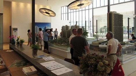 Point Bornova Rezidans'ta 17 daire tipi ziyarete açıldı