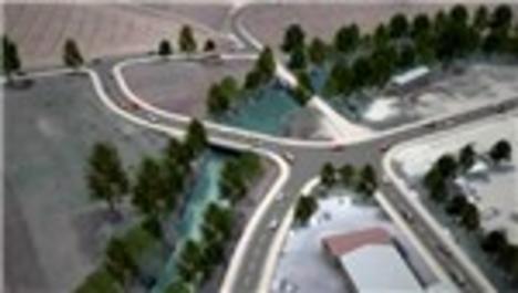Bursa Büyükşehir Belediyesi'nden trafiği rahatlatacak yeni köprü