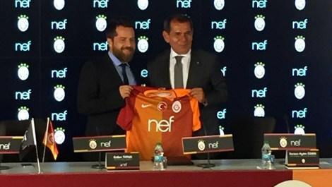 Galatasaray, Nef ile olan anlaşmasını KAP'a bildirdi