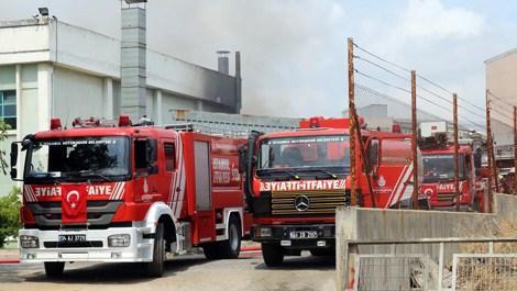 Tuzla Organize Deri Sanayi Bölgesi'nde yangın!