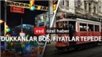 İstanbul'un dünyaca ünlü iki caddesi kan ağlıyor!