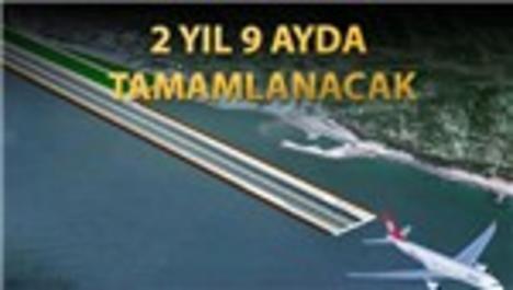 Rize Havalimanı deniz üzerine dolgu alan olarak yapılacak!