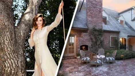 Miranda Kerr ve Malibu'daki evi