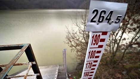 İstanbul'da barajların doluluk oranı yüzde 57,53'e düştü