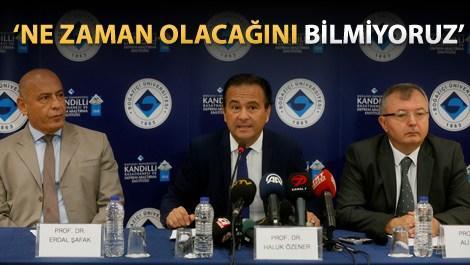 'Marmara'da büyüklüğü 7'nin üzerinde bir deprem olacak'